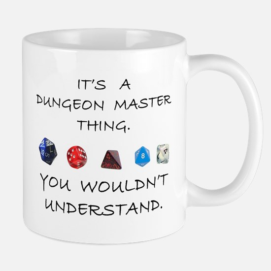 Dungeon Master Thing Mug