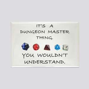 Dungeon Master Thing Rectangle Magnet