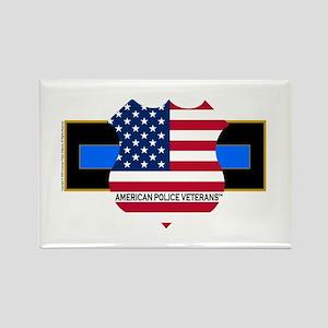 Policevets Logo 06 Rectangle Magnet