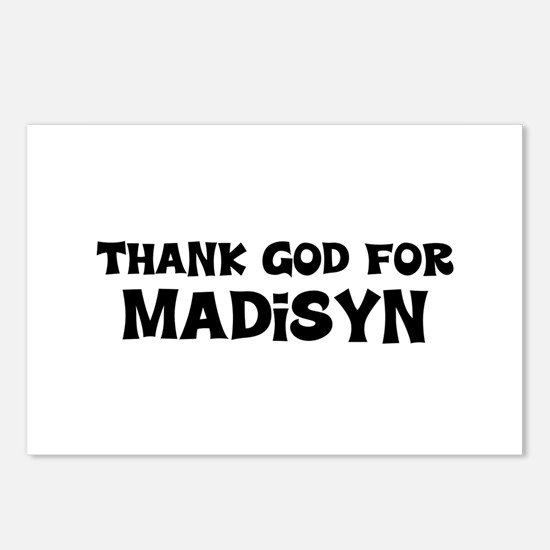 Thank God For Madisyn Postcards (Package of 8)