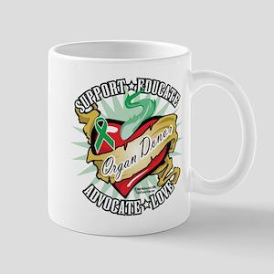 Organ Donor Classic Heart Mug
