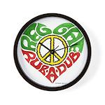 Reggae Rub A Dub Wall Clock