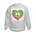 Reggae Rub A Dub Kids Sweatshirt