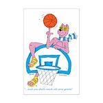 Ok-9 (inspiration (basketball) Mini Poster Print