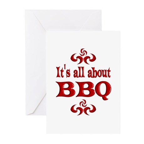 BBQ Greeting Cards (Pk of 20)