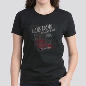 Jack the Ripper London 1888 b Women's Dark T-Shirt