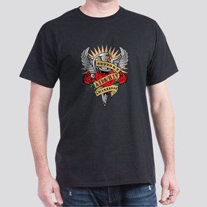 AIDS/HIV Dagger Dark T-Shirt
