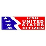 Legal Citizen (Bumper Sticker)