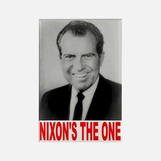 Nixon 1968 Rectangle Magnet