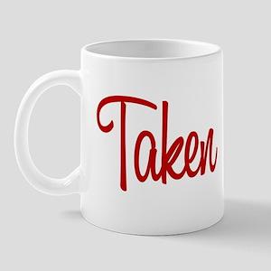 Taken Red Mug