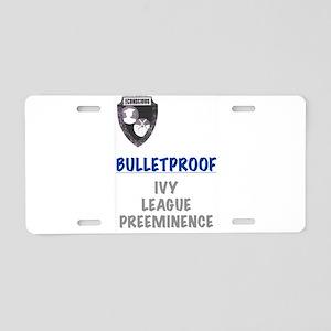 BulletProof Aluminum License Plate