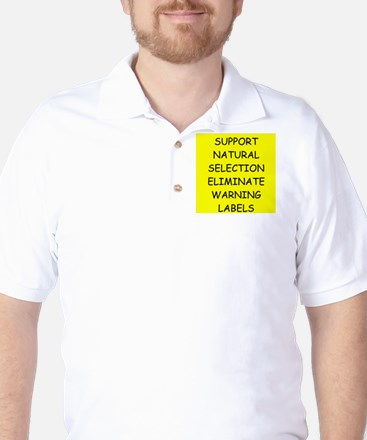 funny proverb Golf Shirt