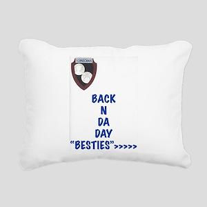 Besties Rectangular Canvas Pillow