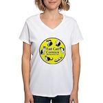 Circle o' Cats Women's V-Neck T-Shirt