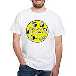 Circle o' Cats White T-Shirt