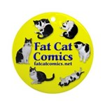 Circle o' Cats Ornament (Round)