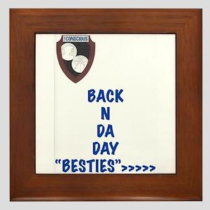 Besties Framed Tile