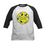 Circle o' Cats Kids Baseball Jersey