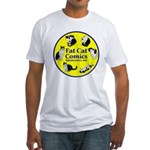 Circle o' Cats Fitted T-Shirt