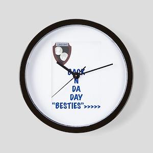 Besties Wall Clock