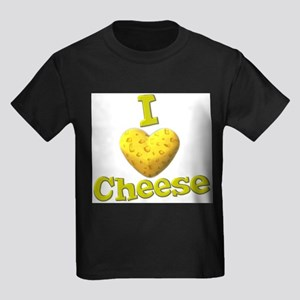 funny cute i heart love cheese cheesey heart Kids
