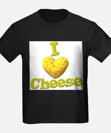 funny cute i heart love cheese cheesey heart T