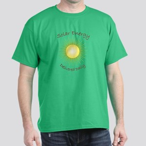 Solar Energy Delivered Daily Dark T-Shirt