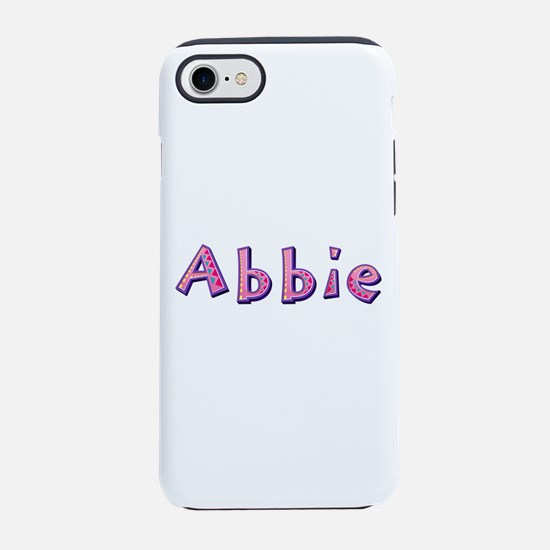 Abbie Pink Giraffe iPhone 7 Tough Case