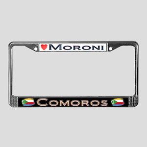 Moroni, COMOROS - License Plate Frame