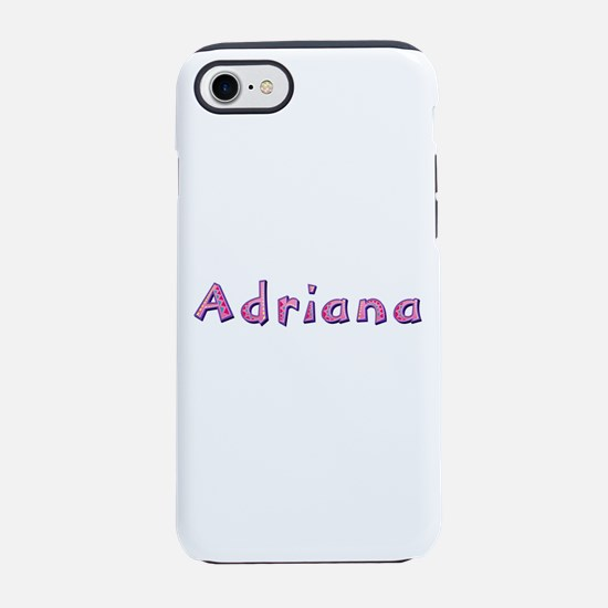 Adriana Pink Giraffe iPhone 7 Tough Case
