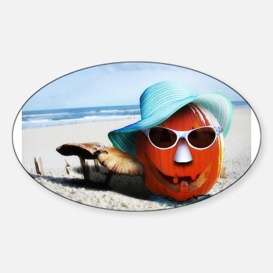 beached pumpkin Decal