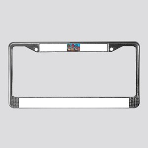 Nubian Sisters License Plate Frame