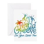 Island Groove Greeting Card