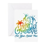 Island Groove Greeting Cards (Pk of 10)