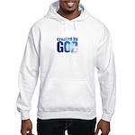 created by God - Hooded Sweatshirt