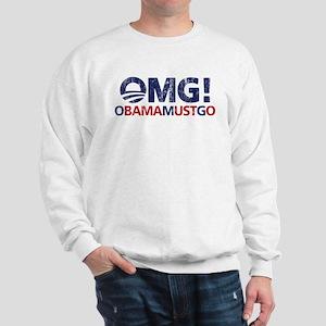 OMG! obamamustgo Sweatshirt