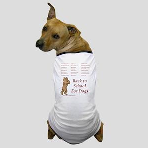 Back to Dog School Dog T-Shirt