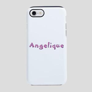Angelique Pink Giraffe iPhone 7 Tough Case