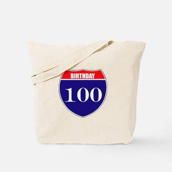 100th Birthday! Tote Bag