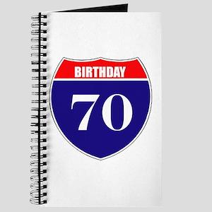 70th Birthday! Journal
