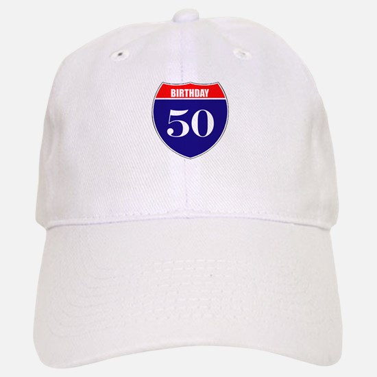 50th Birthday! Baseball Baseball Cap