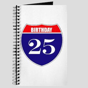 25th Birthday! Journal