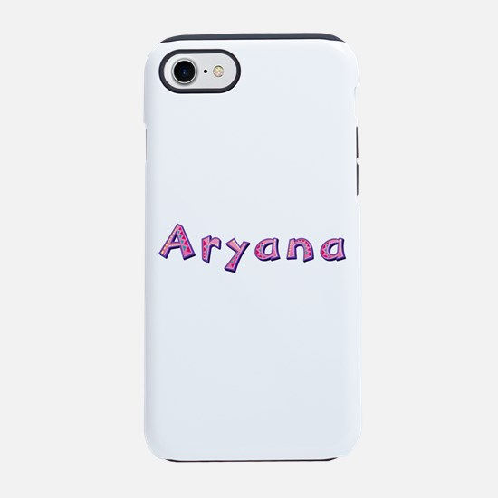 Aryana Pink Giraffe iPhone 7 Tough Case