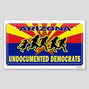 Undocumented Democrats Sticker (Rectangle)