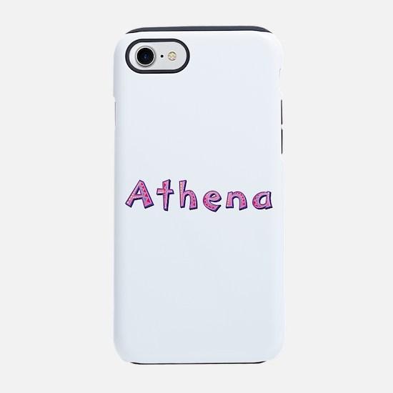 Athena Pink Giraffe iPhone 7 Tough Case