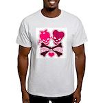 funny valentine Ash Grey T-Shirt