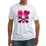 funny valentine Fitted T-Shirt