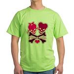 funny valentine Green T-Shirt