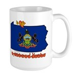 ILY Pennsylvania Large Mug