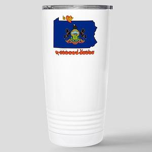 ILY Pennsylvania Stainless Steel Travel Mug